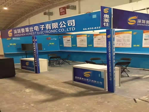 深圳奥莱仕电子展台搭建